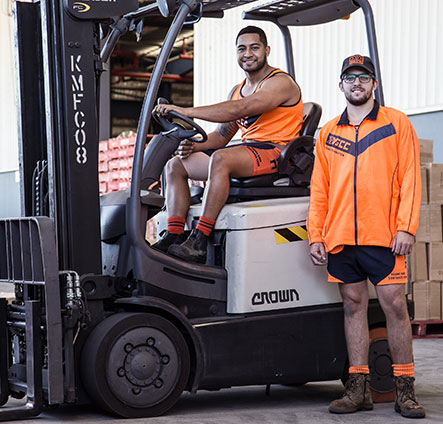 forklift-workers